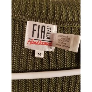 fia italia Sweaters - NWOT FIA ITALIA HAND LOOMED SWEATER SZ MEDIUM